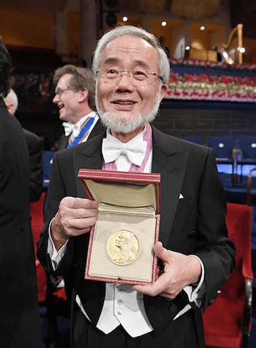 Ёсинори Осуми, Нобелевский лауреат